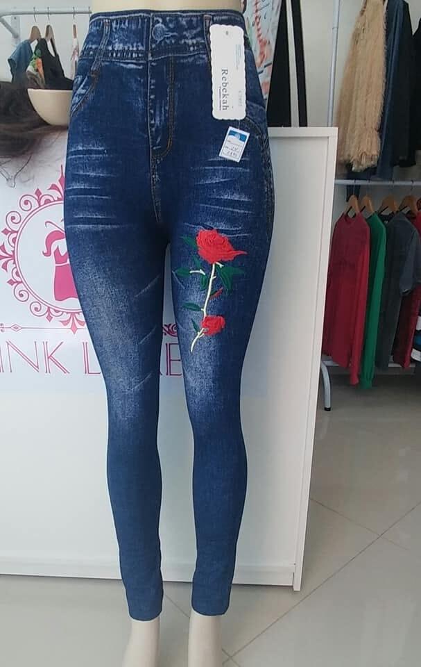 4b59b5ed6 Calça Leg Fake Jeans Fitness Academia Atacado Fabrica Goiânia Modelo ...